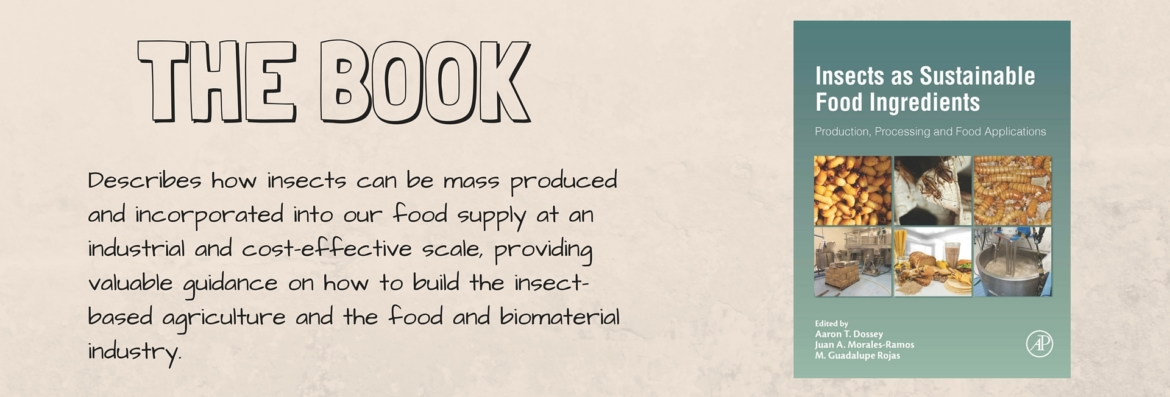 Insects as Sustainable Food Ingredients - The Book Cover